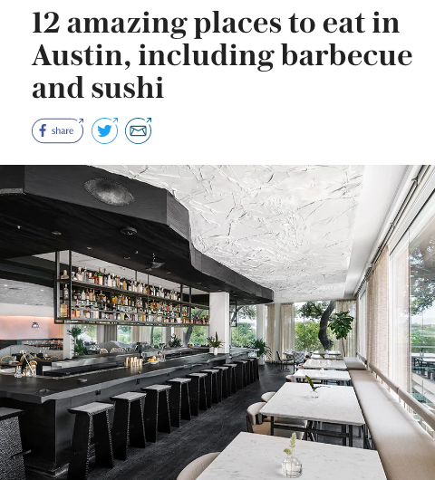 best restaurants austin
